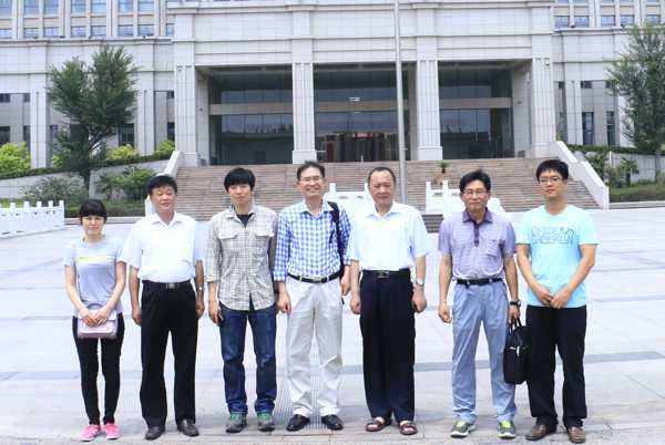 Korean Customers Visited Shandong China Coal for Studying Equipment Installation