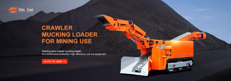 crawler mucking loader for mining use