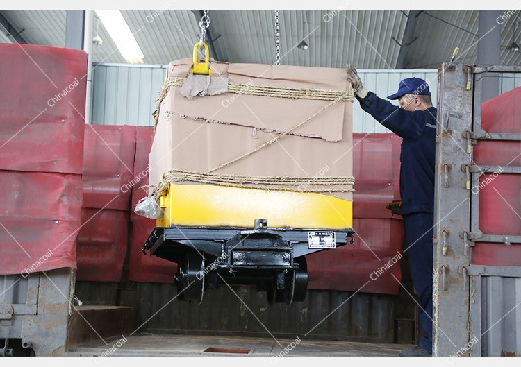 China Coal Group A Batch Fire Fence Doors, Mine Carts Are Sent To Shandong And Jilin
