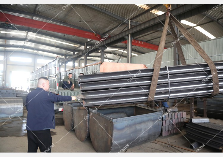China Coal Group Sent A Batch Of U-Shaped Steel Supports To Anshan, Liaoning