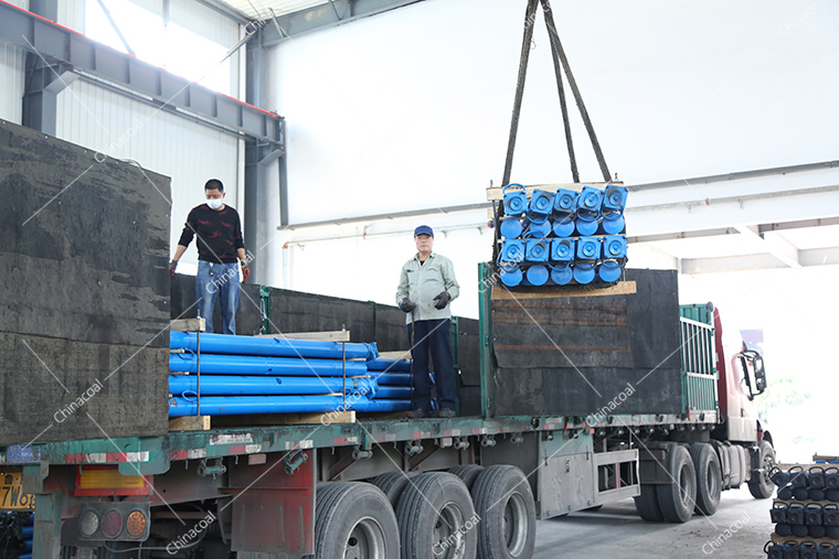 China Coal Group Sent A Batch Mine Single Hydraulic Prop To Gansu And Shanxi