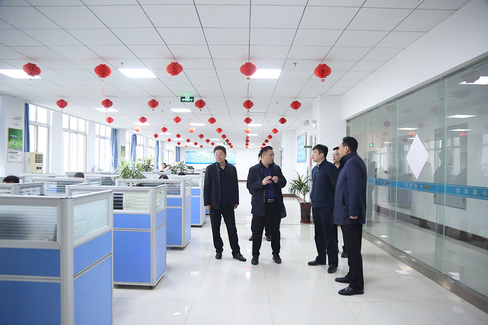 Warmly Welcome The Leaders Of The Communist Youth League Municipal Party Committee To Visit China Coal Group To Discuss Cooperation To Help Rural Revitalization