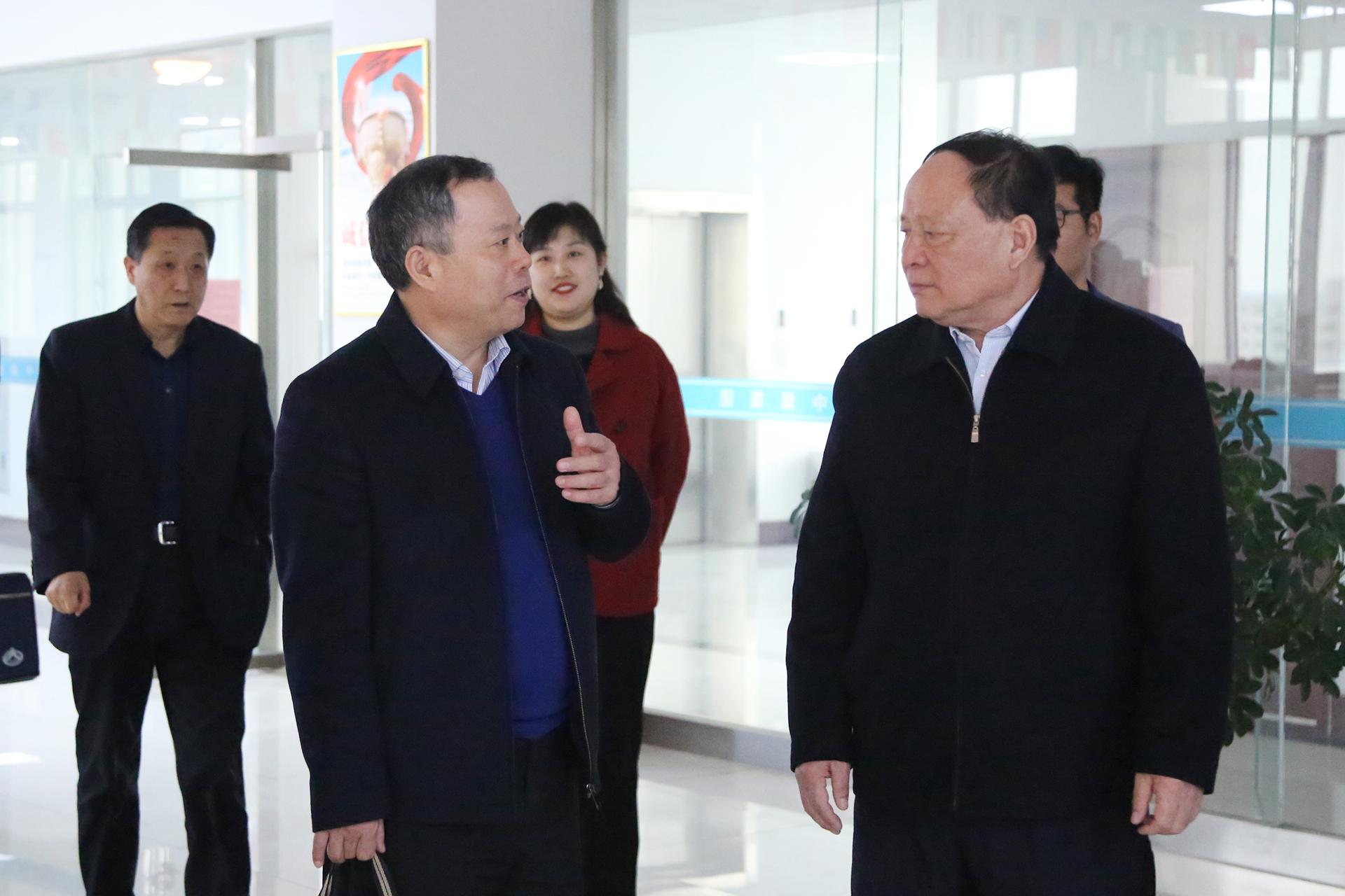 Warm Welcome Shandong Provincial Bureau Of Statistics Leadership Visit China Coal Group Again