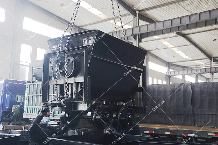 China Coal Group Sent A Batch Of Mining Bucket Tipping Car To Gansu Province